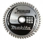 Makita 165x20mm TCT Plunge Saw Blade for Aluminium - 56 Teeth (B-09307)